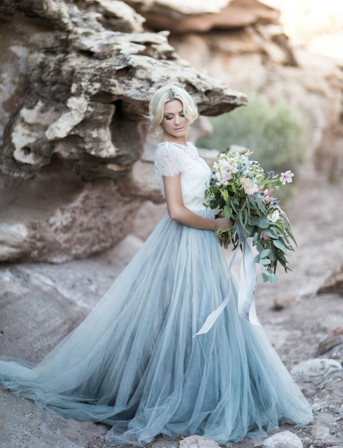 hellblaues hochzeitskleid skandinavische hochzeit