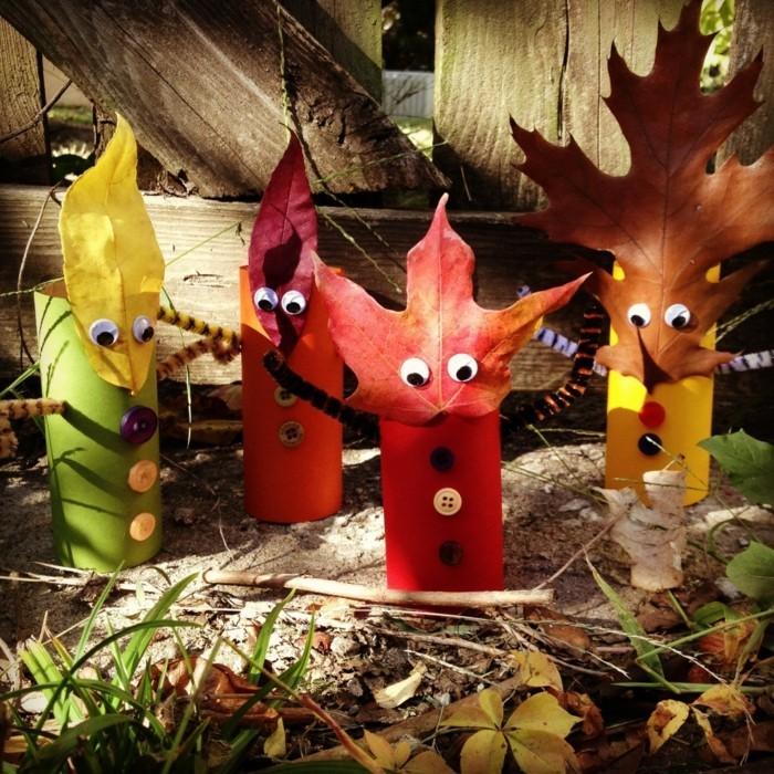 Herbstbasteln Mit Kindern 64 Aberwitzige Diy Ideen Mit
