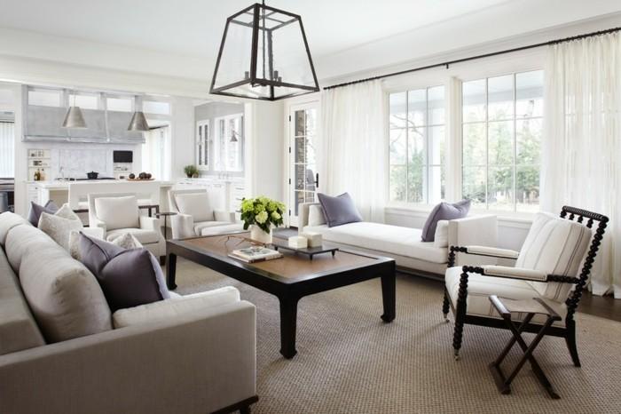 ideen zu wollteppich modell in beige wohnzimmer einrichten