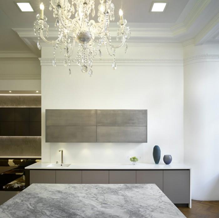 küche einrichten welche materialien und farben sind in diesem jahr angesagt