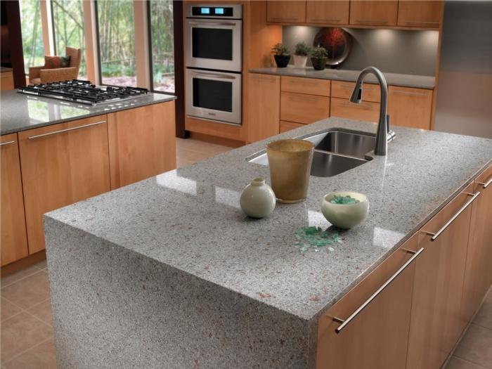 küchenarbeitsplatten aus granit vorteile und nachteile