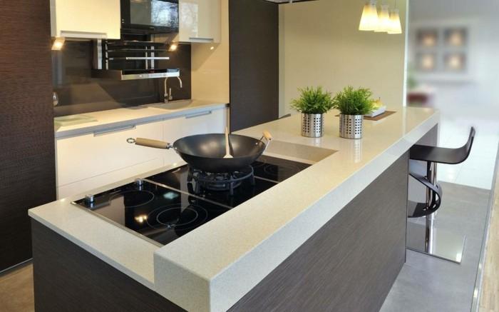 küchenarbeitsplatten in hellen farben funktionalität und schöne optik