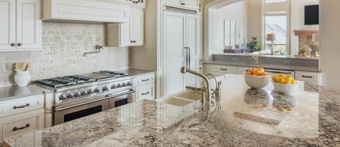 küchenarbeitsplatten stilvolle lösung für die moderne küche