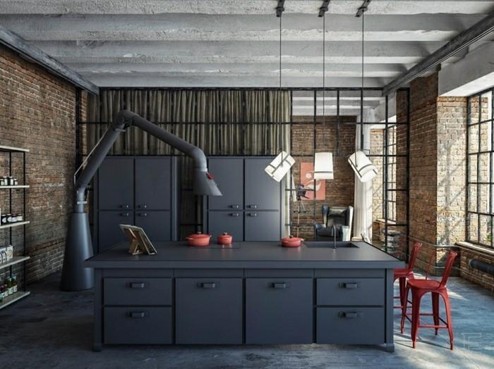 küchentrends 2019 industrieller stil