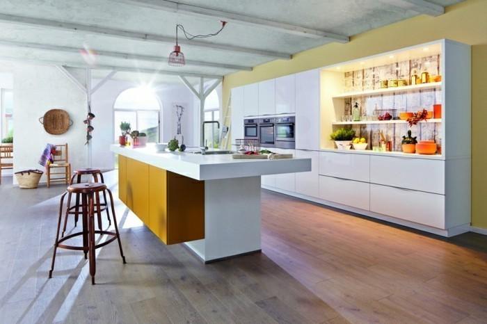 küchentrends 2019 knallige farbkombinationen fesseln den blick