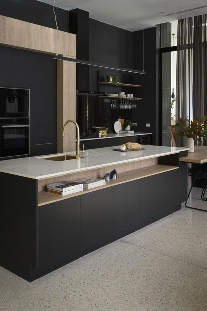 küchentrends 2019 mattes schwarz hat hier seinen platz