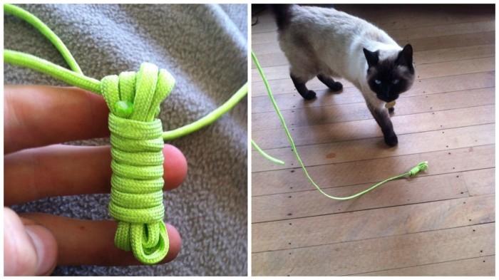 katzenspielzeug selber machen 2