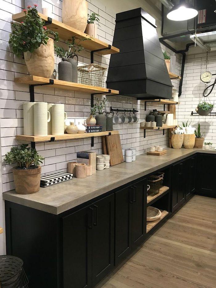 kleine Küche regal ideen