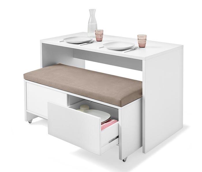 kleine Küchen multifunktionale Möbel