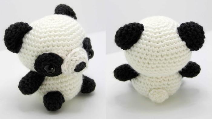 mini panda amigurumi häkeln