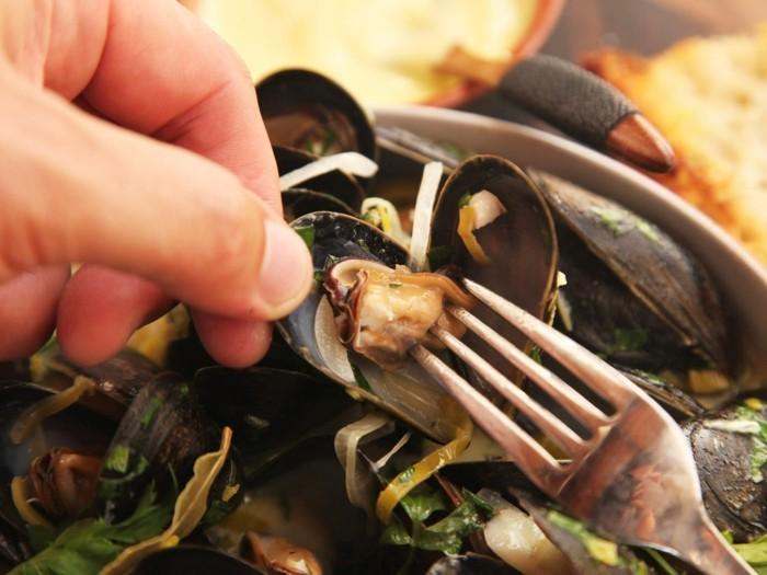 muscheln kochen miesmuscheln rezept