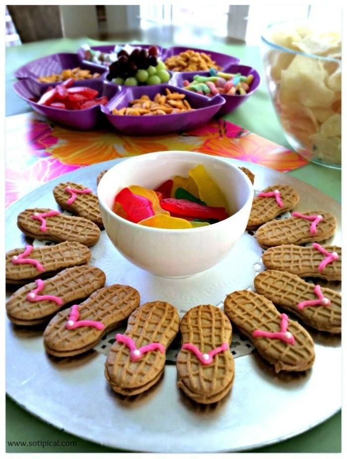59 lustige party snacks ideen die wir gern am kindergeburtstag essen. Black Bedroom Furniture Sets. Home Design Ideas