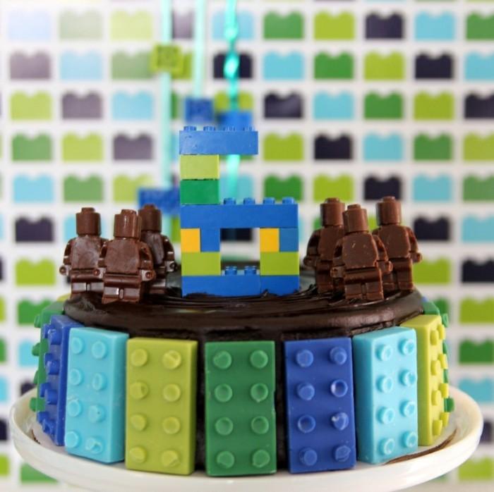 partysnacks kindergeburtstag essen party snacks idee mit lego