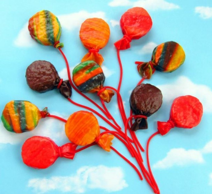 partysnacks kindergeburtstag essen party snacks lutschballons