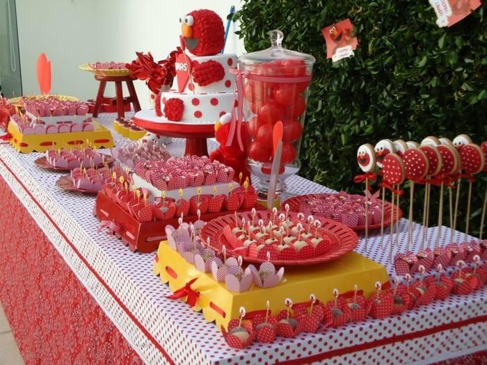 partysnacks kindergeburtstag essen party snacks sandwitch rot rosa