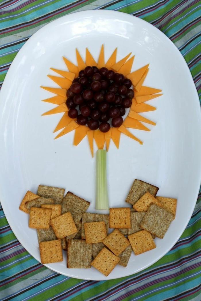 partysnacks kindergeburtstag essen party snacks sonnenblume