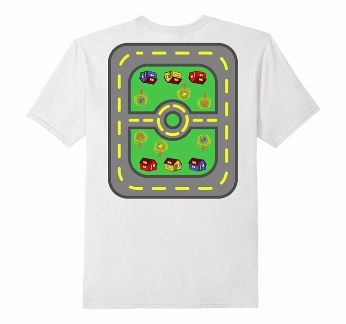 rueckenmassage t shirt design autobahn