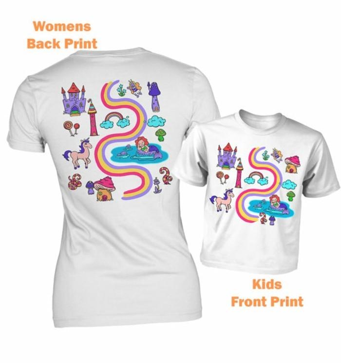 rueckenmassage t shirt design einhorn trend