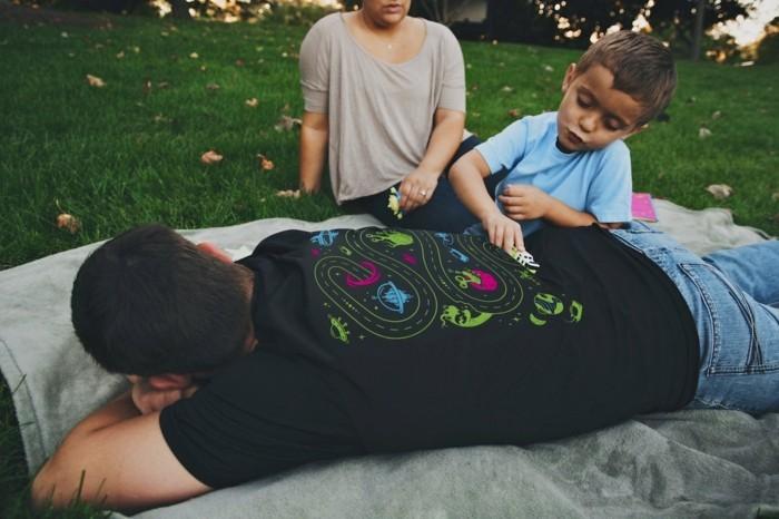 rueckenmassage t shirt design entspannung pur