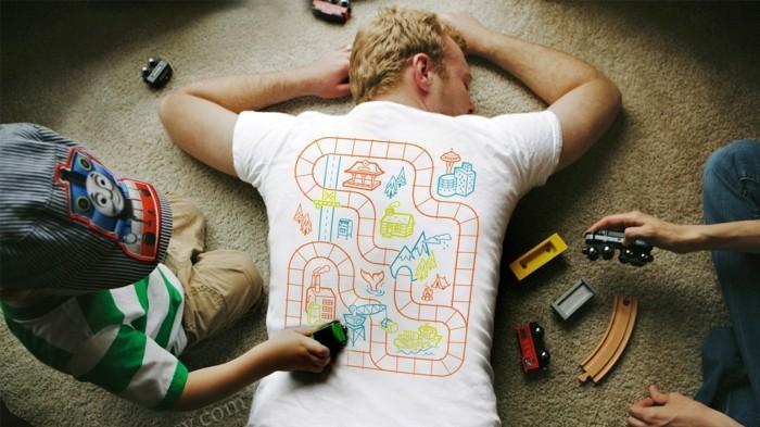 rueckenmassage t shirt design entspannung