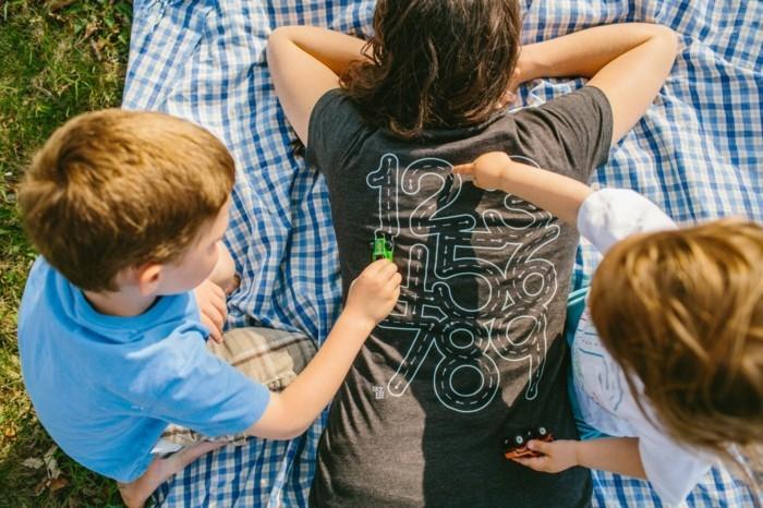 rueckenmassage t shirt design lernen