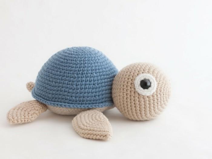 süsse schildkröte selber häkeln