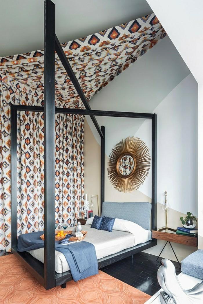schlafzimmer dachschr ge 33 ideen f r den schlafbereich auf dem dach. Black Bedroom Furniture Sets. Home Design Ideas