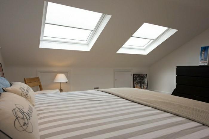 schlafzimmer einrichten mit dachschräge