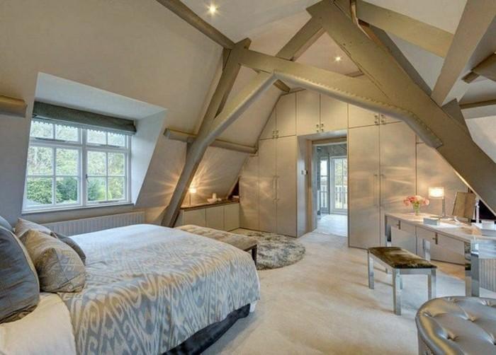 Schlafzimmer Dachschräge - 33 Ideen für den Schlafbereich auf dem Dach