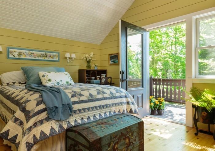 Beau ... Was Ein Schlafzimmer Im Landhausstil Charakterisiert ...