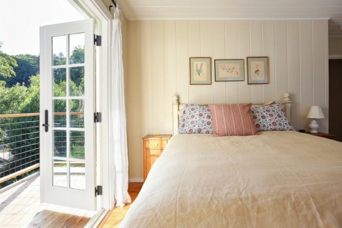 schlafzimmer landhausstil neutrale farben für mehr gemütlichkeit