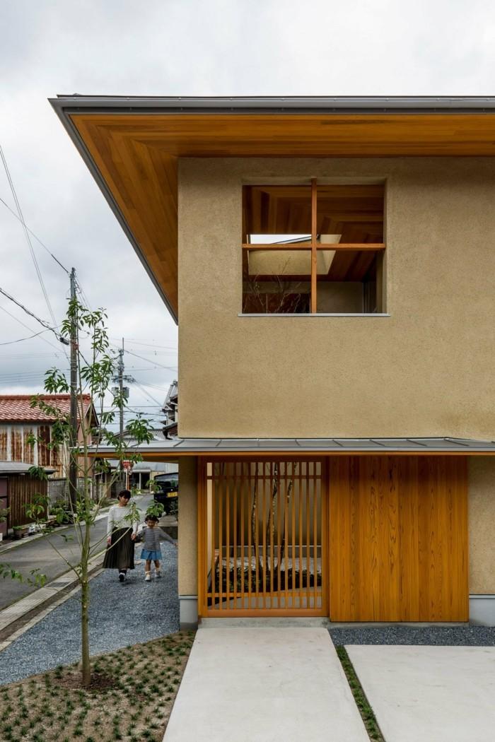 Moderne Architektur: ein Familienhaus in der japanischen