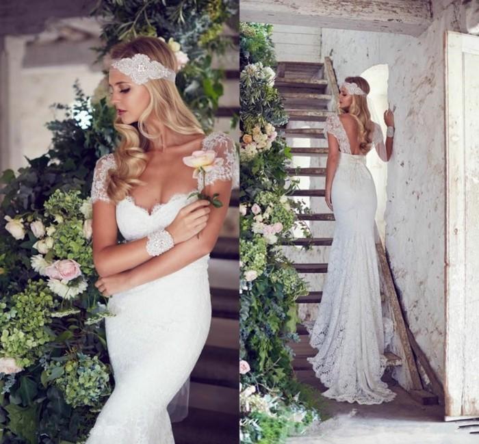 skandinavisch heiraten scandy style hochzeit brautkleid