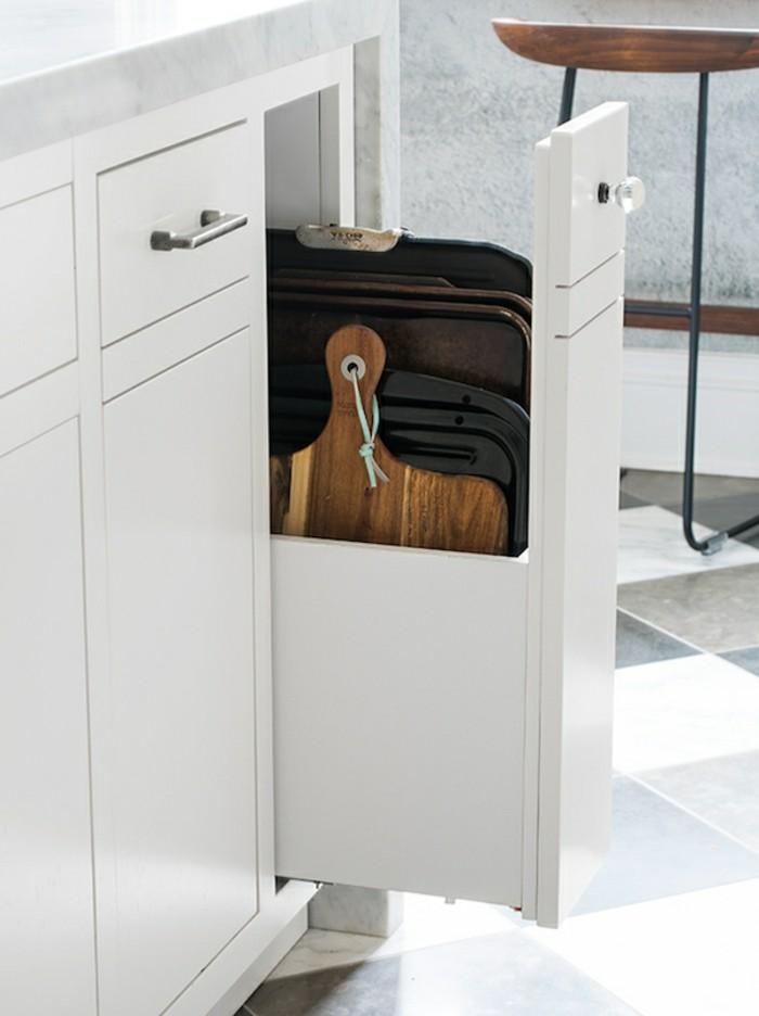 39 stauraum ideen f r die moderne k che. Black Bedroom Furniture Sets. Home Design Ideas