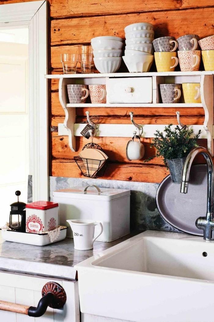 stauraum küche offene wandregale lassen die küche lebendiger wirken