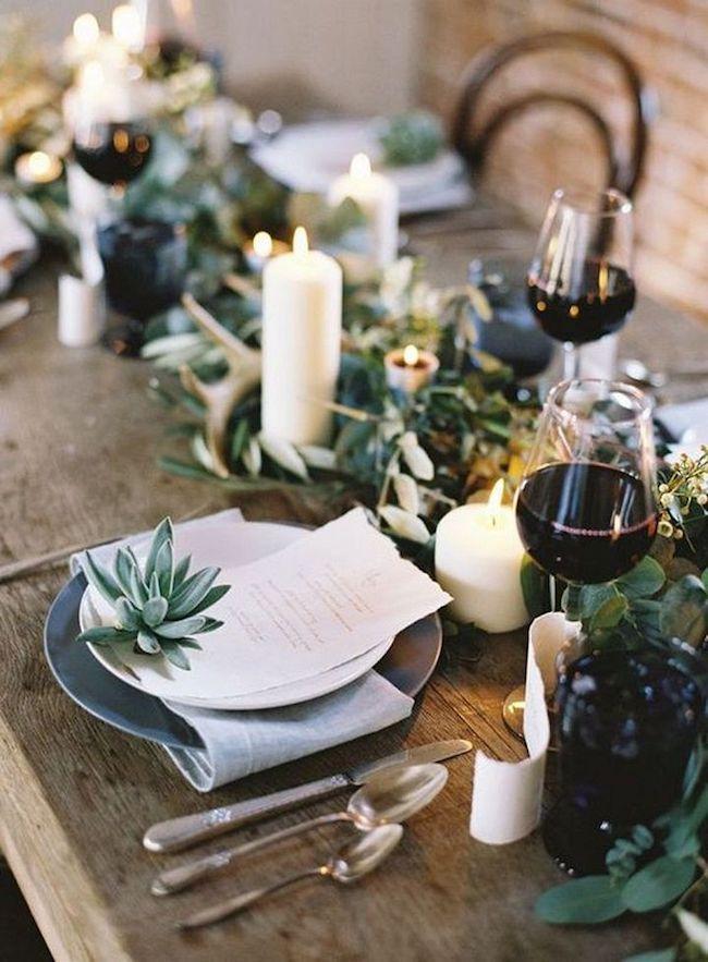 Liebevolle Tischdeko F R Ein Noch Feineres Kulinarisches