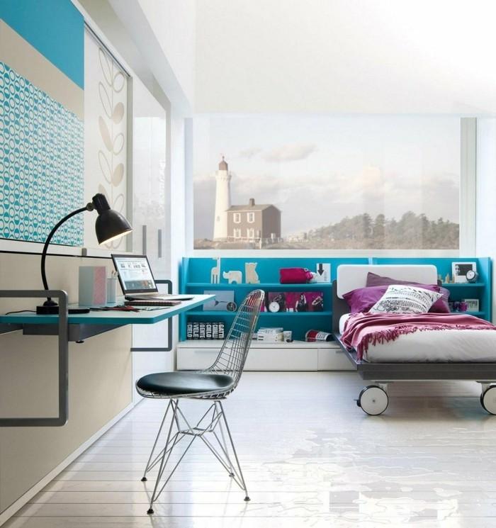 die farbe des jahrhunderts einzigartige gestaltungsideen in t rkis. Black Bedroom Furniture Sets. Home Design Ideas