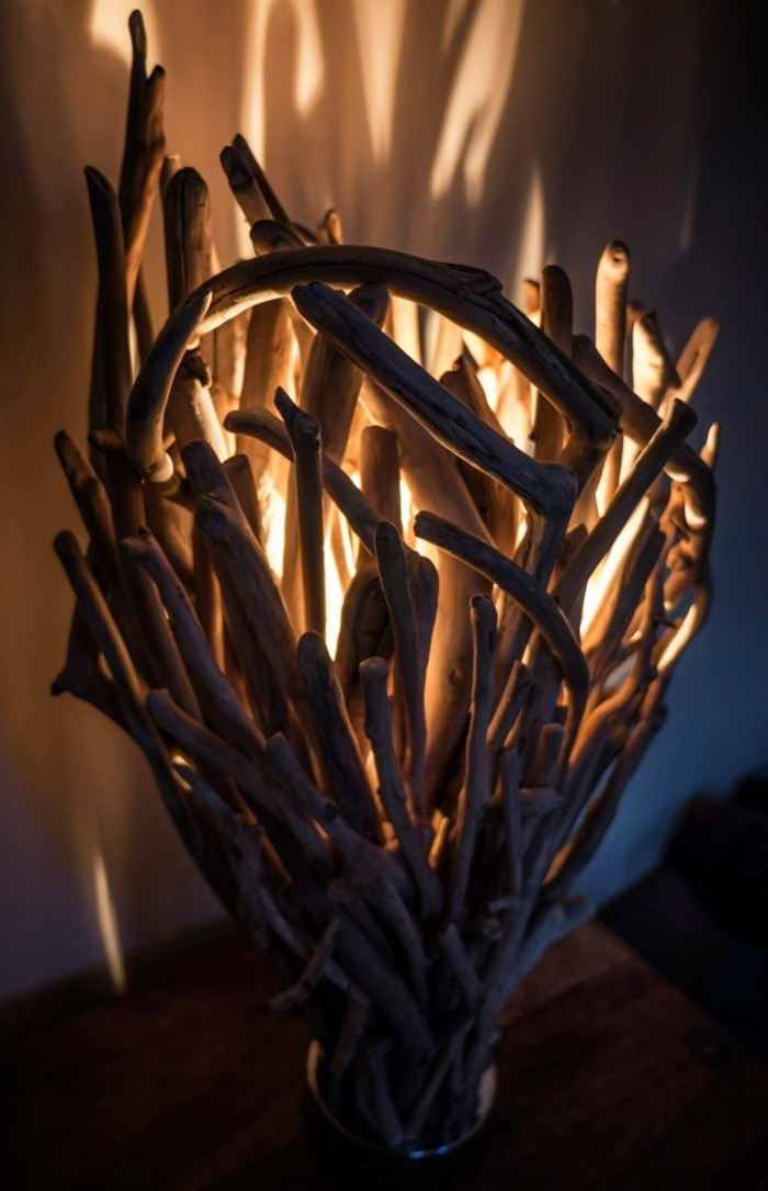 Driftwood Lamp - 69 DIY ideas, inspirations and much more