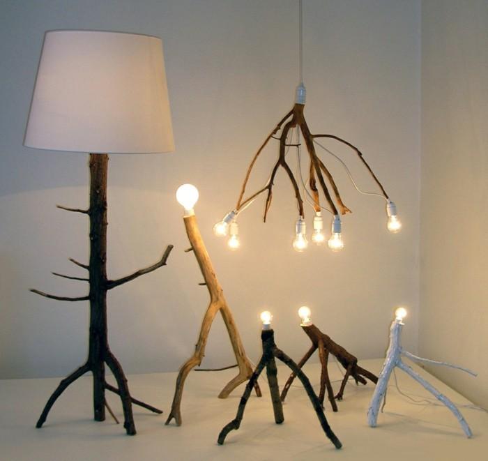 treibholz lampe diy ideen naturnah