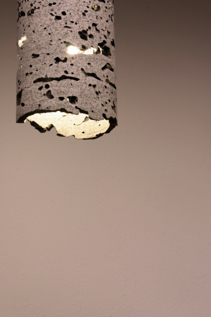 treibholz lampe diy ideen rinde birke