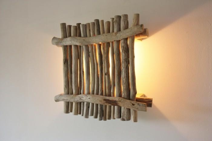 treibholz lampe diy ideen rustikal