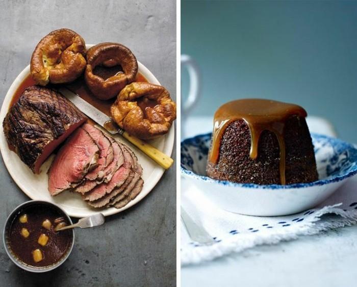 typisch skandinavische küche braten kuchen