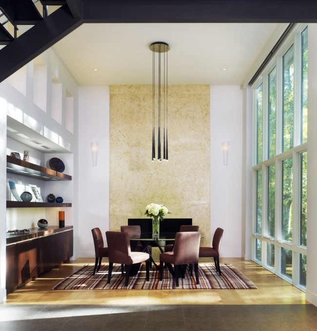 esstisch lampen richtig ins szene setzen. Black Bedroom Furniture Sets. Home Design Ideas