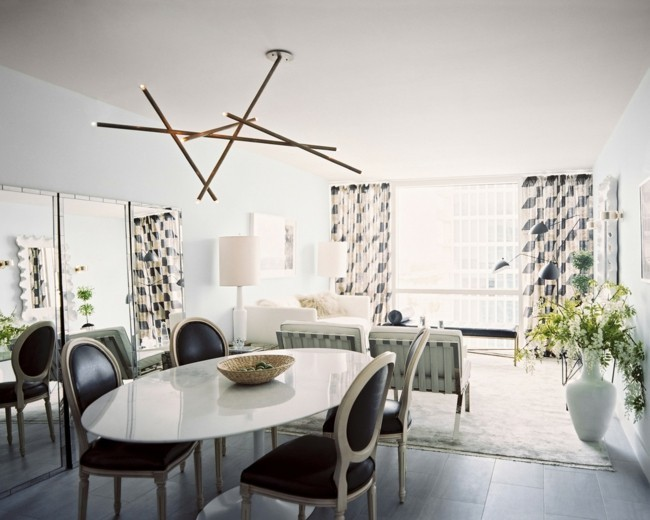 wohnideen esszimmer lampen für den esstisch aussuchen