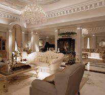 Wohnideen wohnzimmer  Wohnideen Wohnzimmer im klassischen Stil für eleganten Komfort und ...