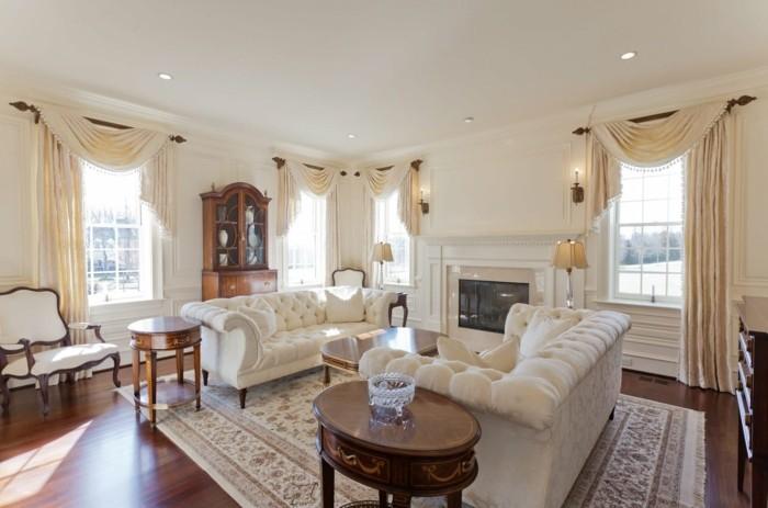 wohnzimmer einrichten ideen klassischer einrichtungsstil ist gemütlich und stilvoll