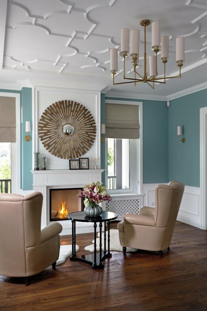 wohnzimmer einrichten ideen zeitgenössisch mit klassischen zügen