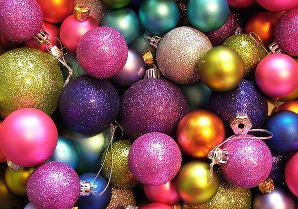 Alles glänzt und glitzert zu Weihnachten