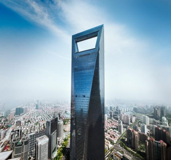 Architektur Zukunft Shanghai World Financial Centre