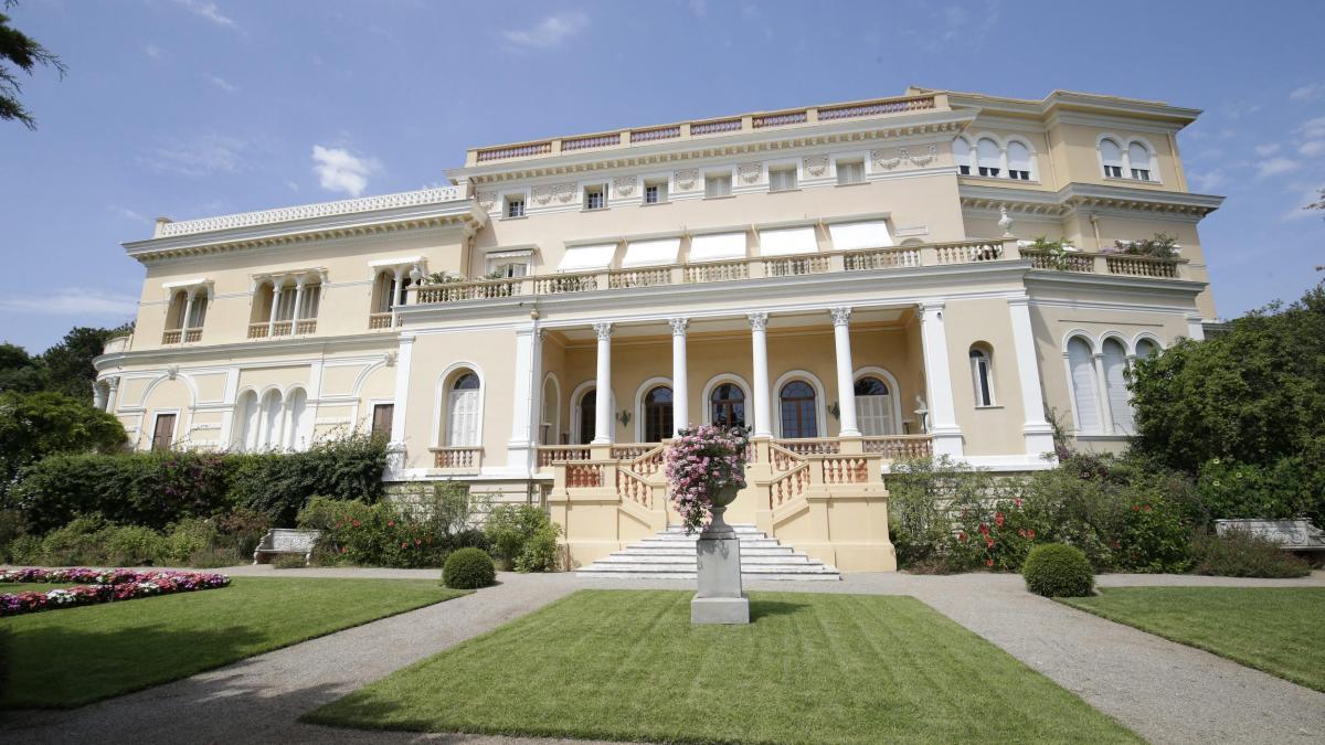 Architektur teuerstes Haus Parkanlagen Gärten